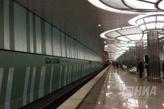 """Станция метро """"Стрелка"""" открылась в Нижнем Новгороде 12 июня"""