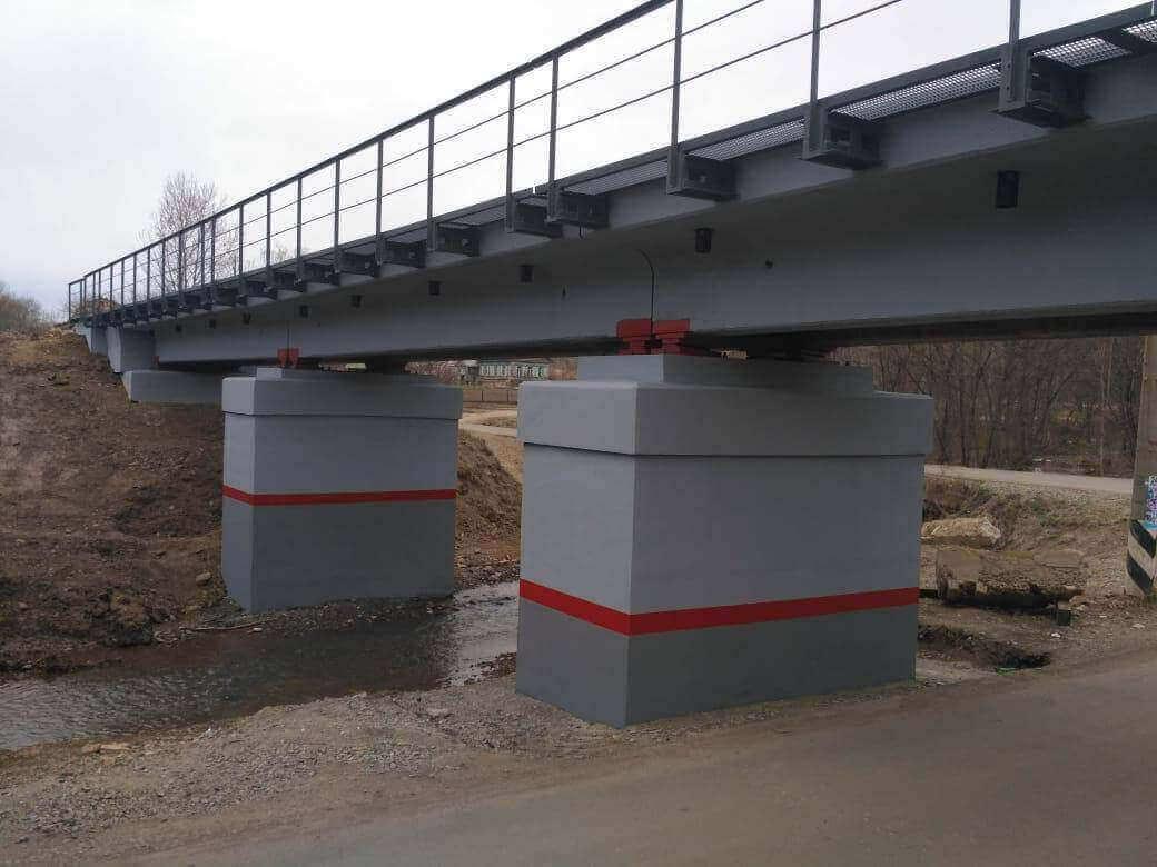 Реконструкция моста в Новонежино