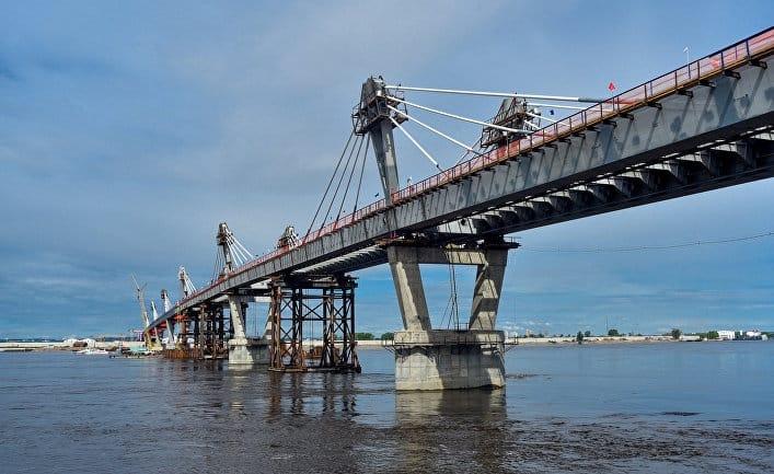 Достроен мост, соединяющий Россию и Китай