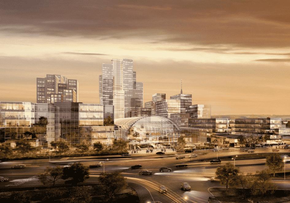 Территорию за Рижским вокзалом застроят по проекту японских архитекторов
